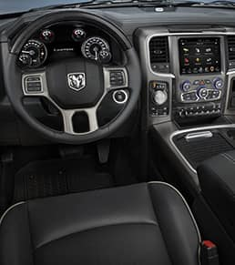 Ram 1500 Limited center console