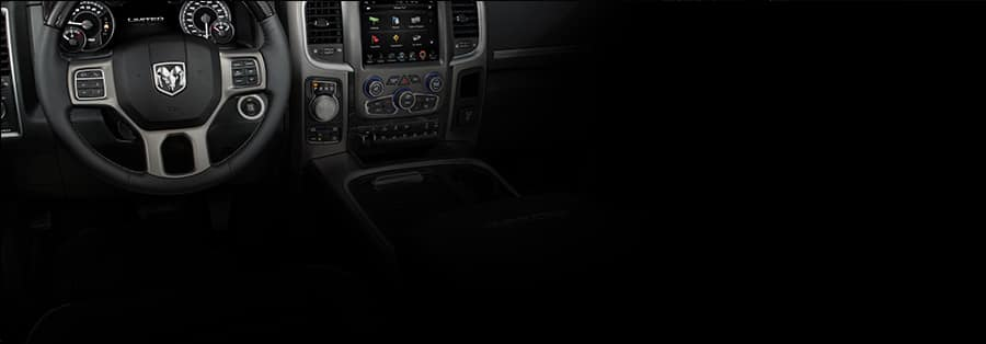 Ram 1500 Limited front interior