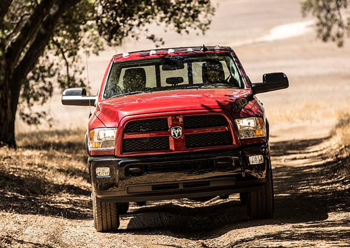 Front of Red RAM 2500