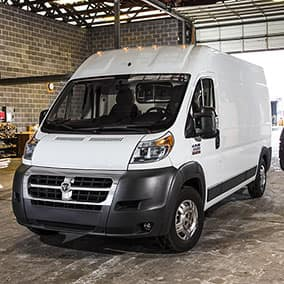 Ram Promaster exterior high roof