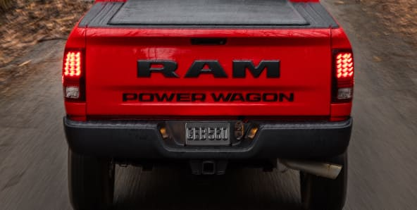 2017 Ram Power Wagon rear tailgate