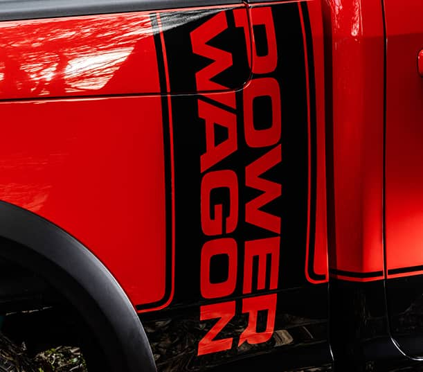 2017 Ram Power Wagon stripe