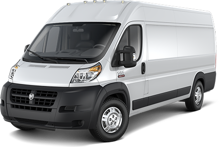 2014 Ram ProMaster Front Side Driver Exterior View