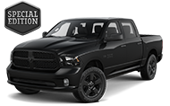 2016 Ram 1500 Black Express Front Side Driver Exterior View