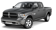 2016 Ram 1500 Outdoorsman Front Side Driver Exterior View