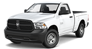 2016 Ram 1500 Tradesman Front Side Driver Exterior View