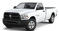 2014 Ram 3500 Tradesman Front Side Driver Exterior View