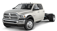 2016 Ram Chassis Cab 4500 Crew Cab Laramie Front Side Driver Exterior View