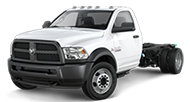 2016 Ram Chassis Cab 4500 Tradesman Front Side Driver Exterior View