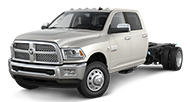 2014 Ram Chassis Cab 3500 Crew Cab Laramie Front Side Driver Exterior View