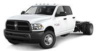 2014 Ram Chassis Cab 3500 Crew Cab Tradesman Front Side Driver Exterior View