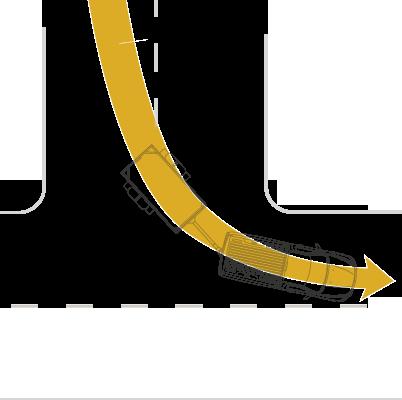 """diagrama """"giros amplios"""""""