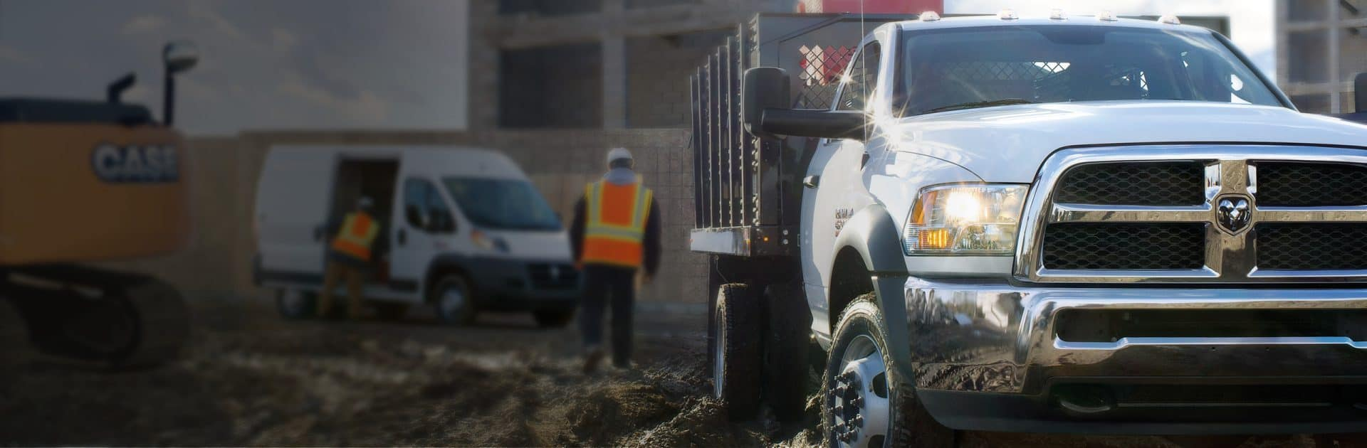 2018 Ram Trucks Chassis Cab on a Jobsite