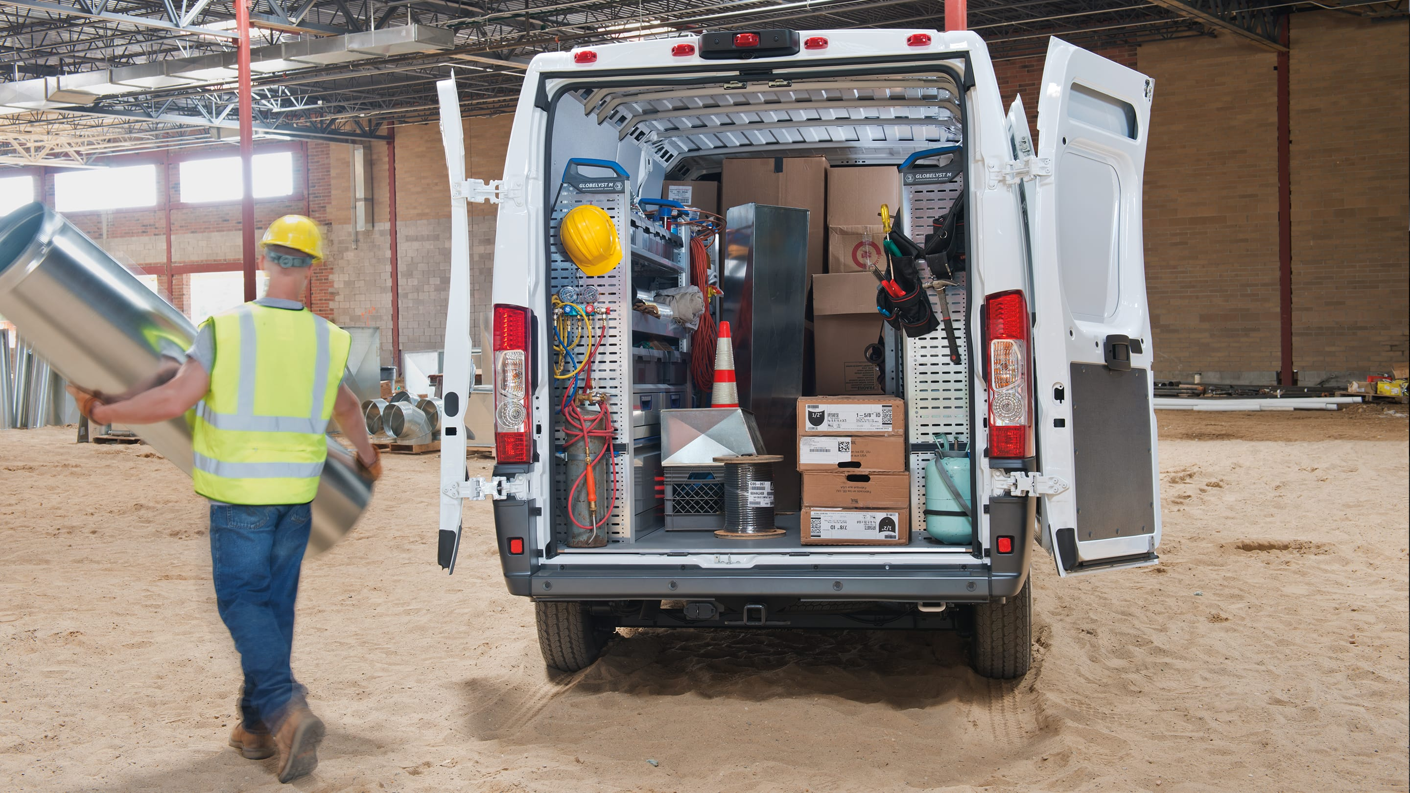 2018 Ram ProMaster Rear Door Loading