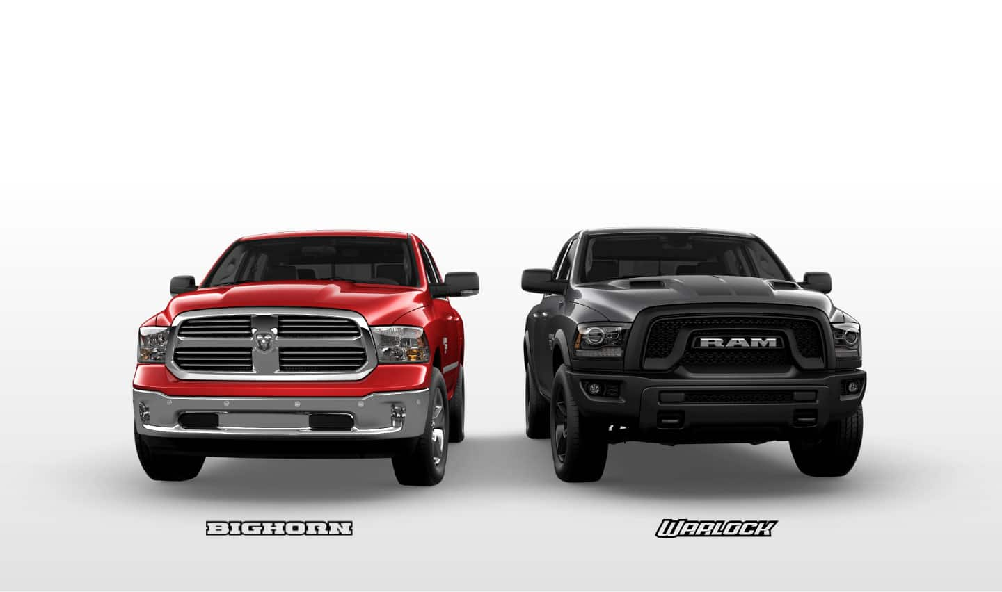 Ram 1500 Classic Bighorn and Warlock and the Bighorn and Warlock badges.