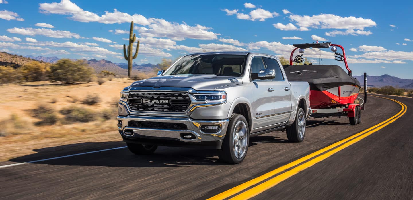 2019 Ram 1500 Limited Towing Boat