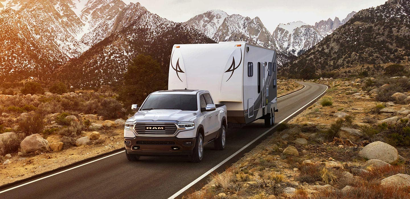 2019 Ram 1500 Laramie Longhorn Towing Trailer