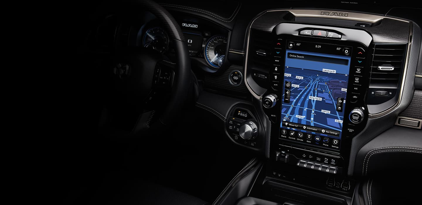 All-New 2019 Ram 1500 - Interior Photos and Features Gallery