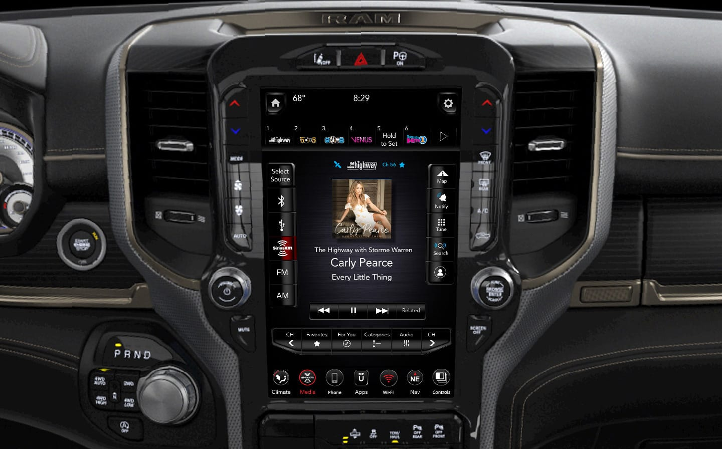 Groovy All New 2019 Ram 1500 Interior Photos And Features Gallery Dailytribune Chair Design For Home Dailytribuneorg