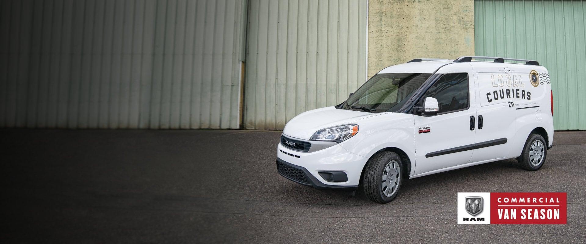 Ram Commercial Van Season