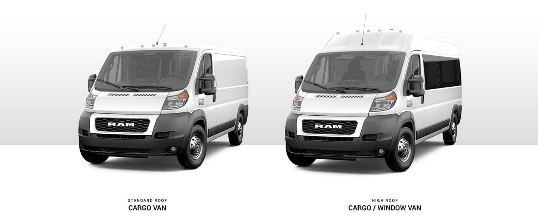 2019 Ram ProMaster - Commercial Cargo Van