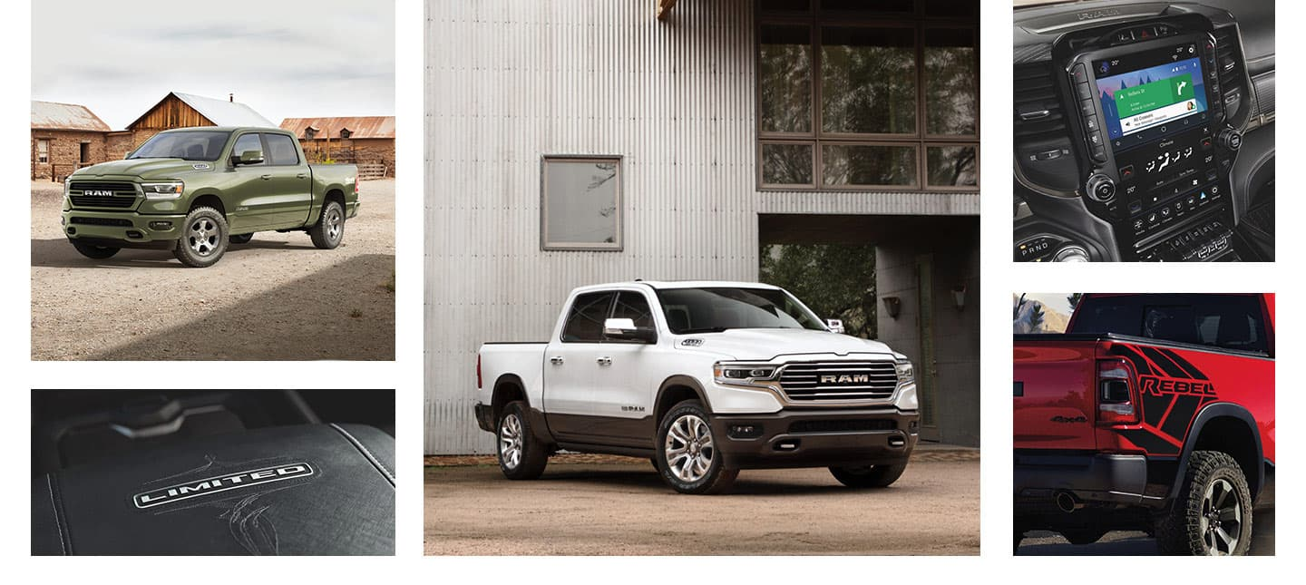 Trim Levels of the 2020 Ram 1500