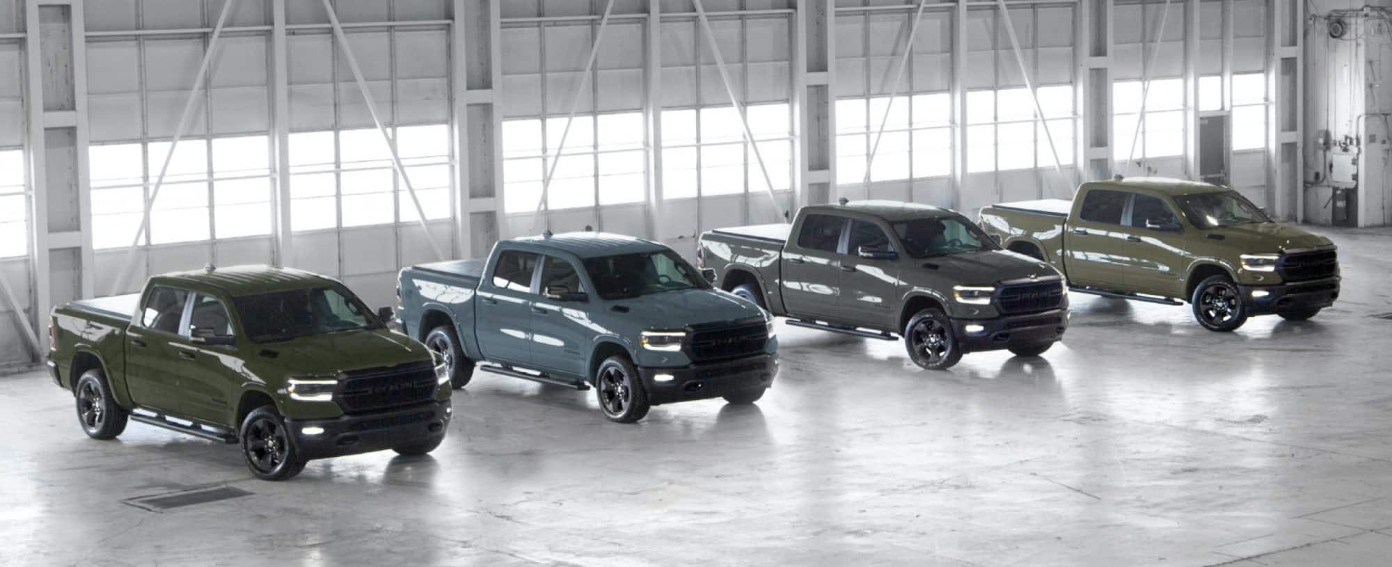 Built to Serve Ram Editions Announced