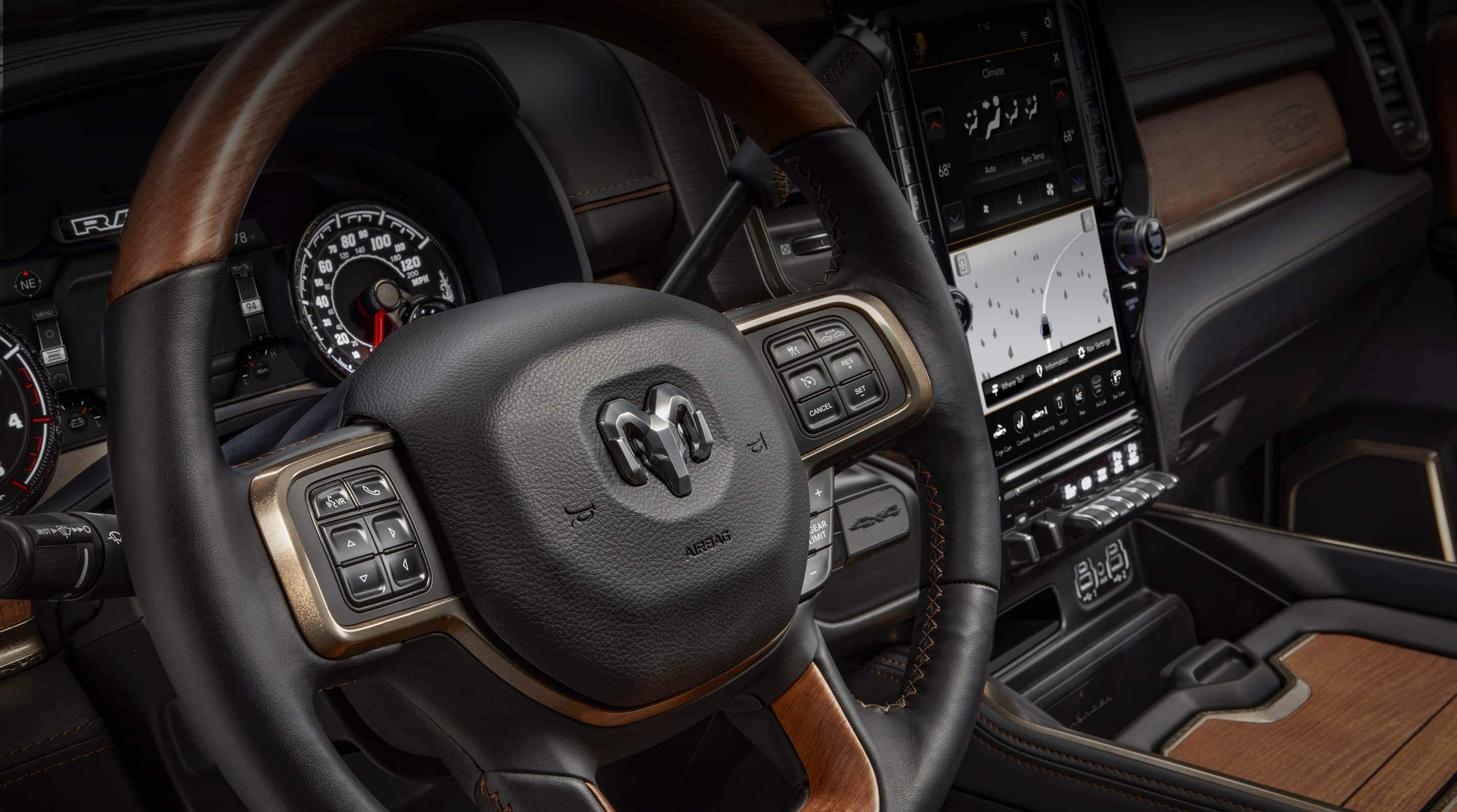 2020 Ram Trucks 2500 Interior Features