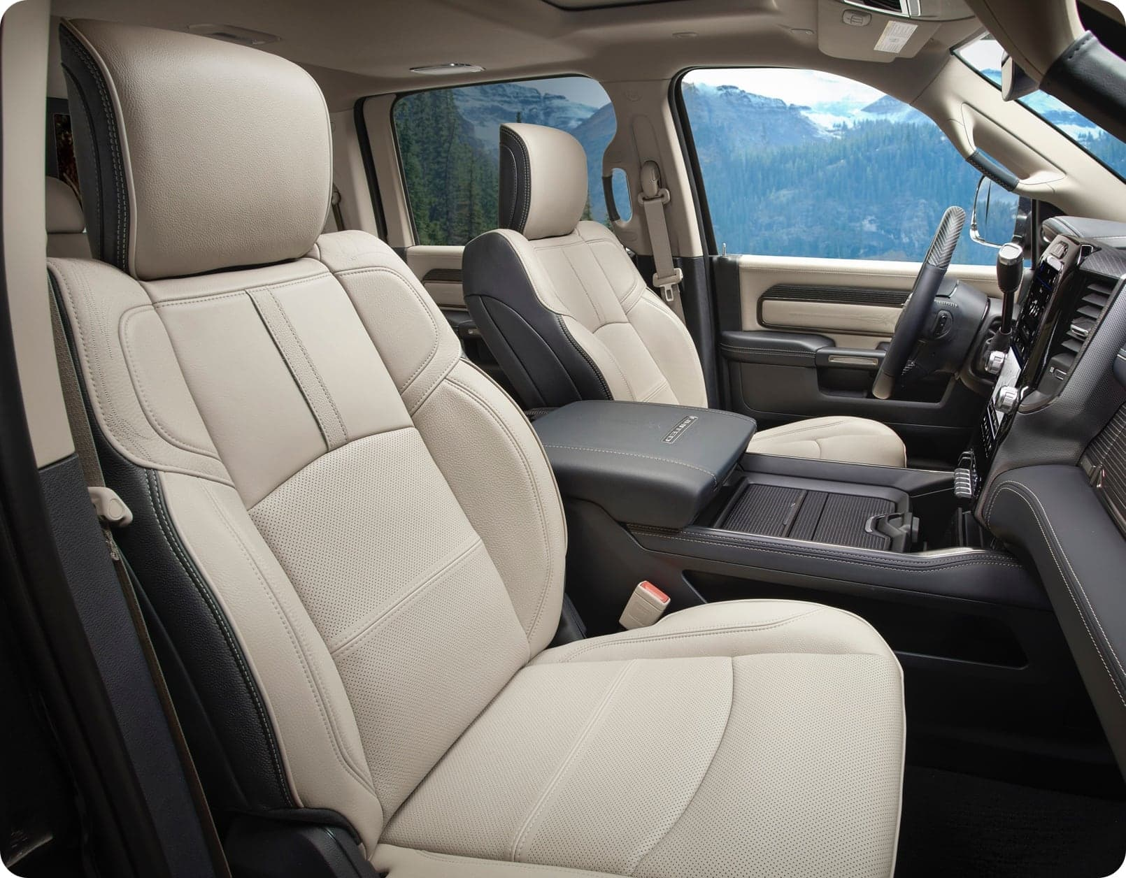 2021 Ram 2500 Interior Available Leather Seats More