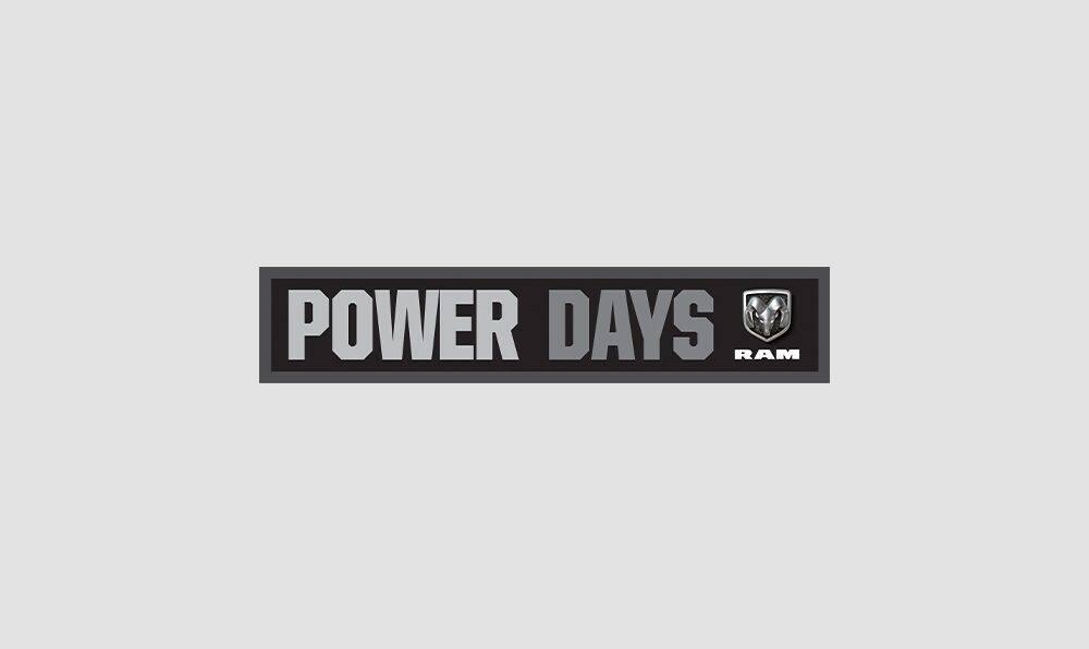 Ram Build And Price >> Ram Power Days Ram Trucks