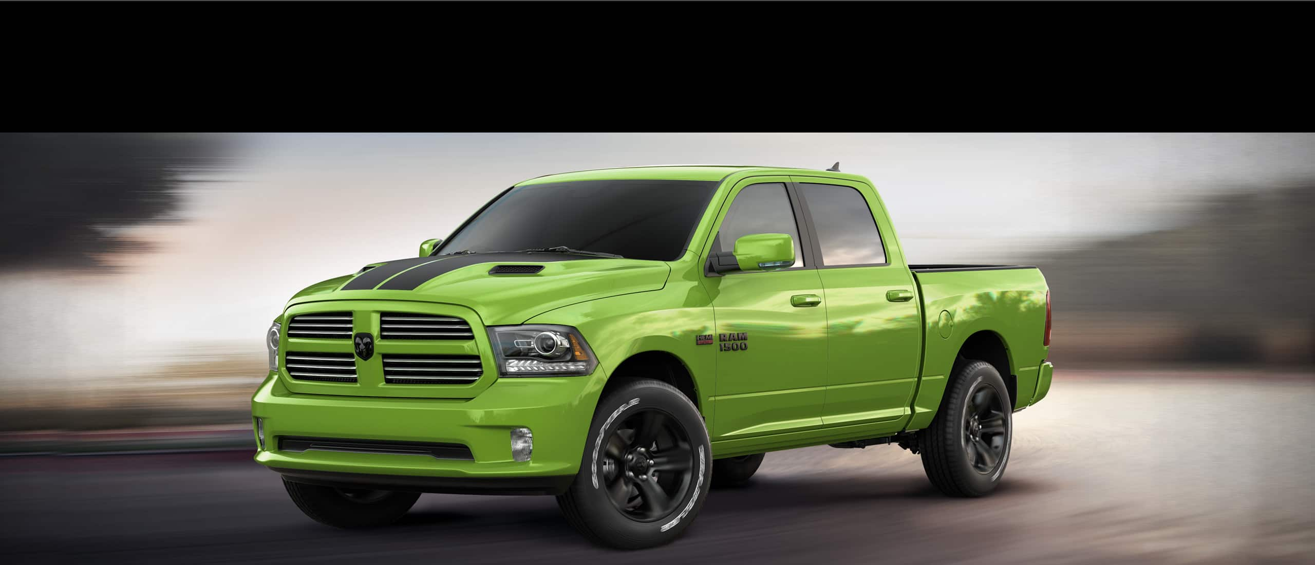 2017 Ram 1500 Sublime Green