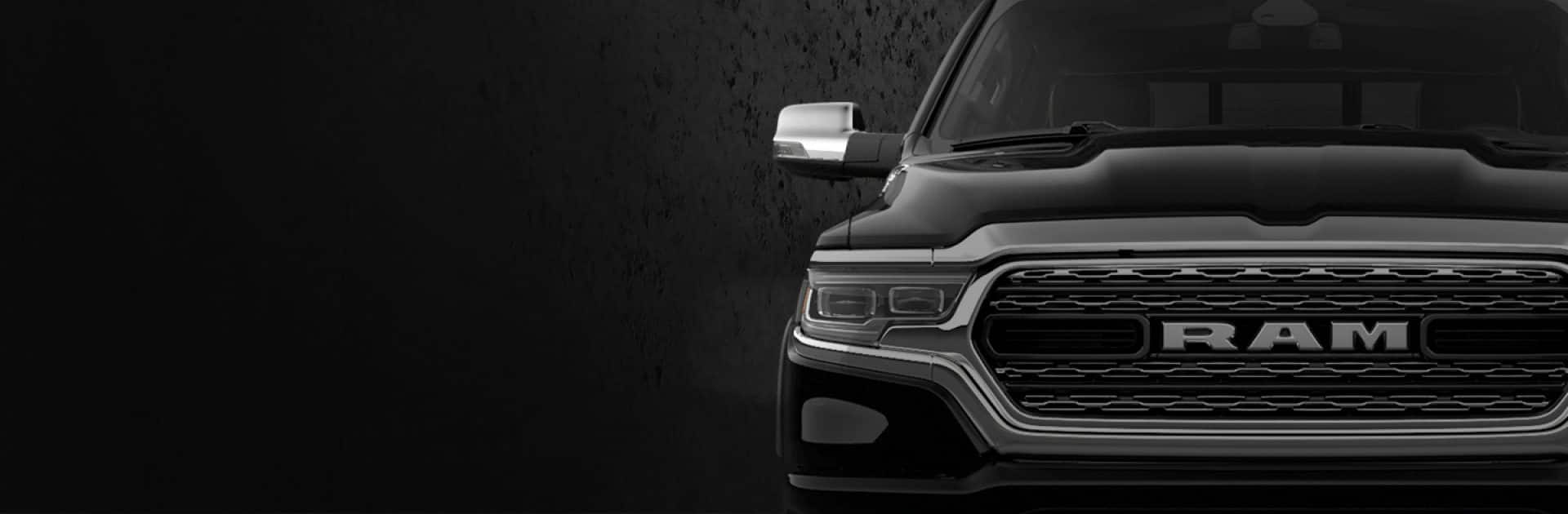 Close-up of the 2020 Ram Heavy Duty Limited Black Edition