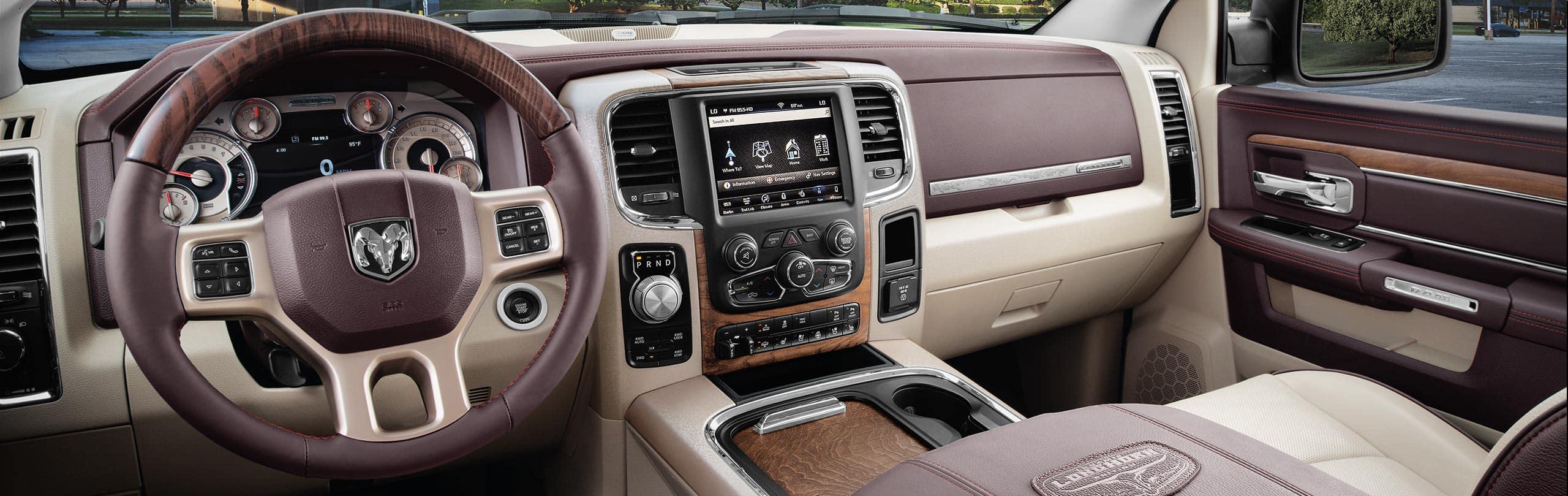 Amazing 2018 Ram Trucks Laramie Longhorn Southfork Edition Dashboard Pictures