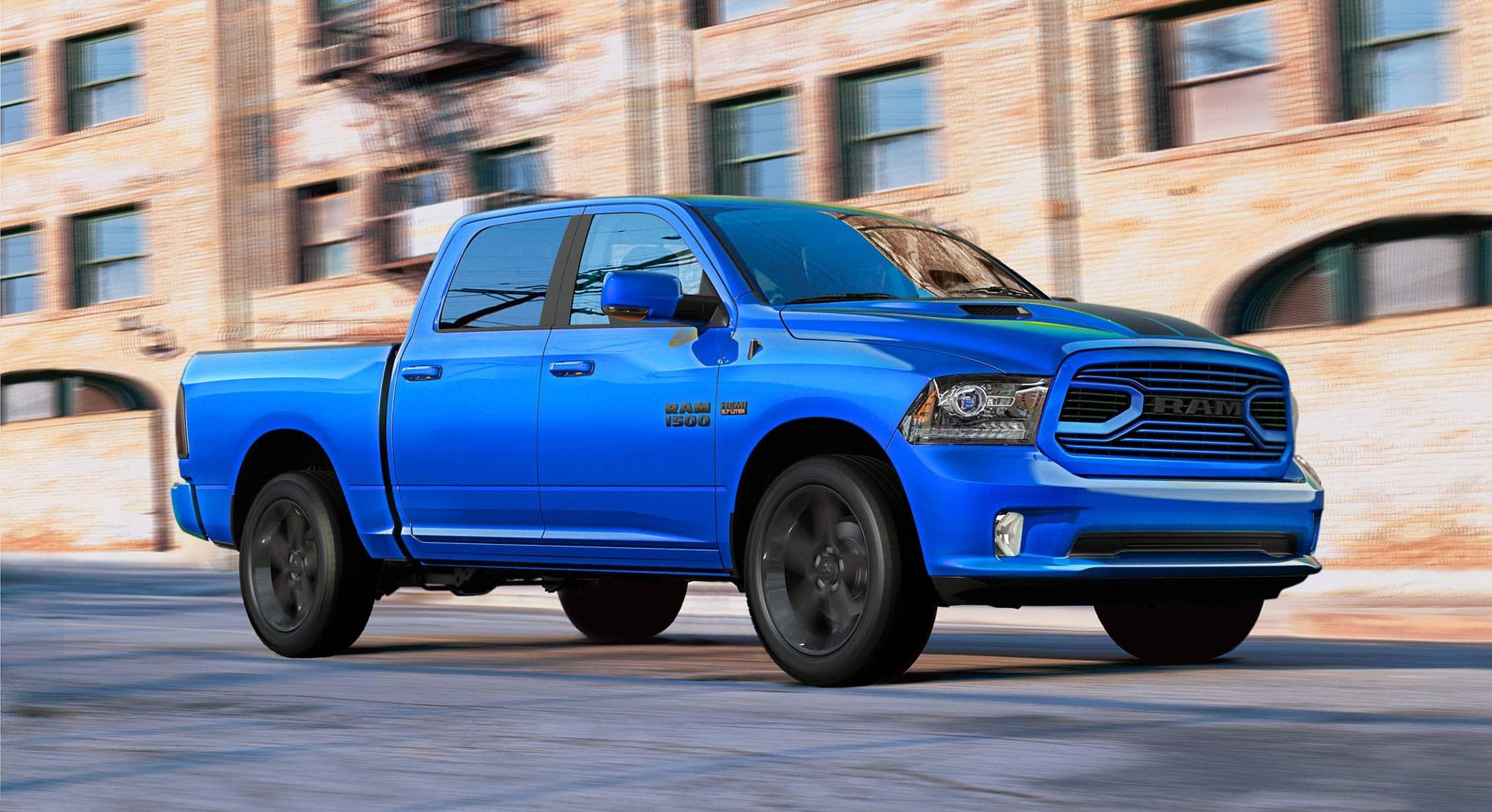 New Dodge Ram Trucks Sport >> Ram Introduces Hydro Blue Sport Model At Reedman Toll Near