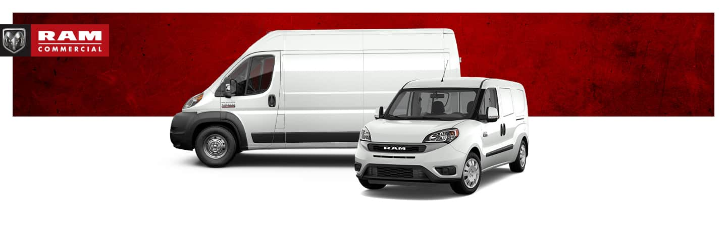 Ram ProMaster and Ram ProMaster City.  Ram Commercial.