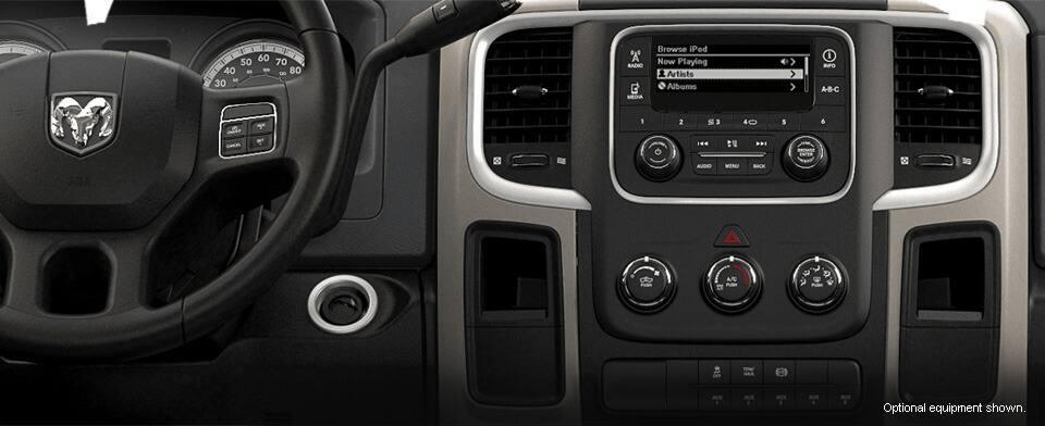 Interior de Ram Chassis Cab 5500 2016