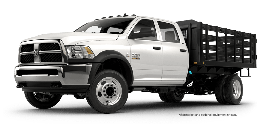 2016 Ram Chassis Cab truck with stake upfit