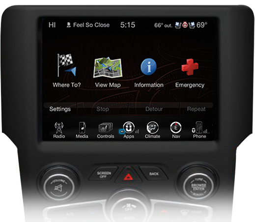 overlay panel 8.4 ra 4 2 uconnect gps, satellite radio, wi fi, bluetooth & more ram trucks 2014 Dodge Ram Fuse Label Number at mifinder.co