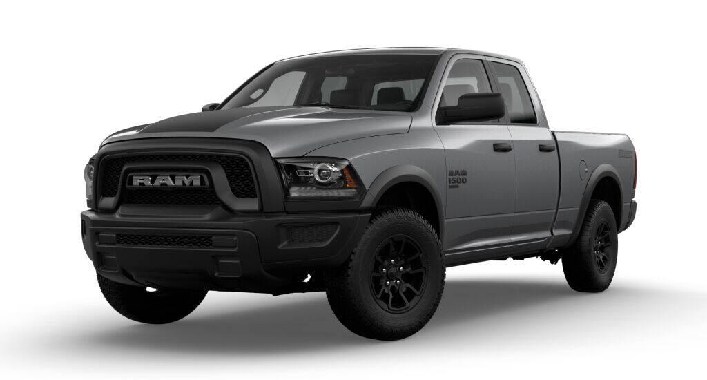 NEW 2021 RAM 1500 CLASSIC WARLOCK QUAD CAB® 4X4 6'4