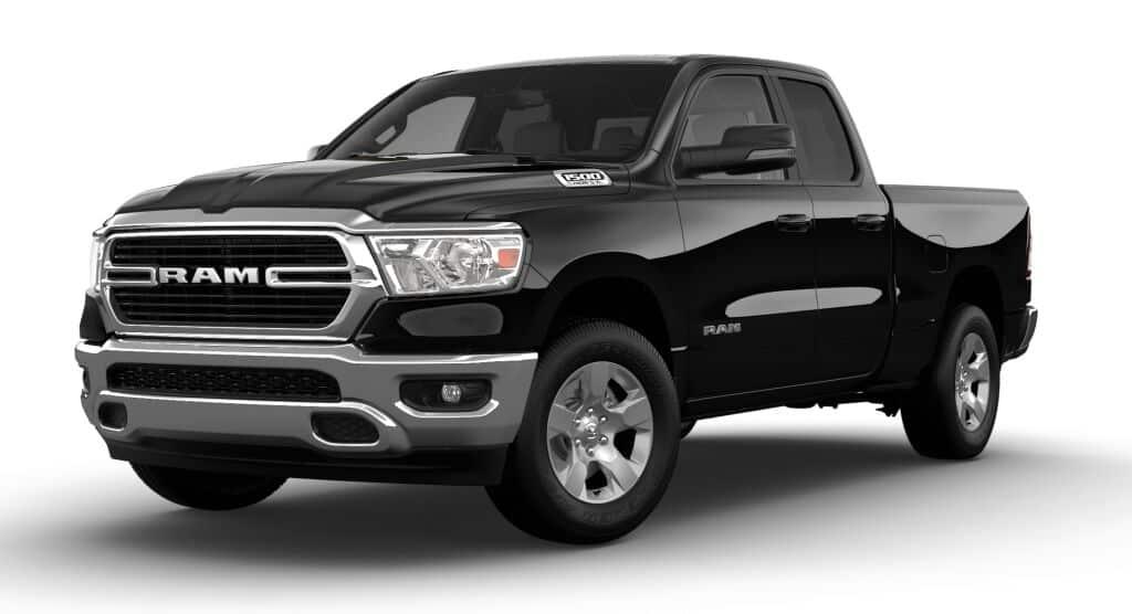 NEW 2021 RAM 1500 BIG HORN QUAD CAB® 4X4 6'4